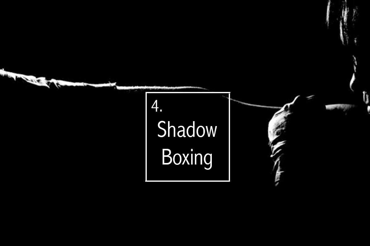 workout-from-home-shadow-boxing